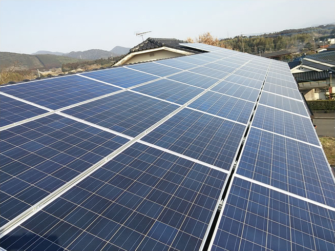 S社様 12.96kW 産業用太陽光発電設置プロジェクト